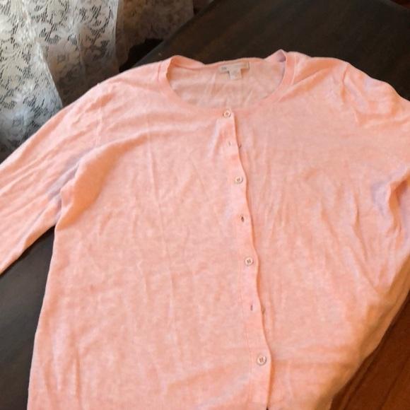 GAP Sweaters - Gap pink cardigan